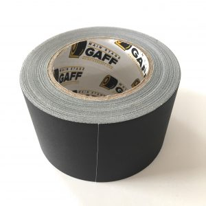 3 inch x 30 yard black gaffers tape